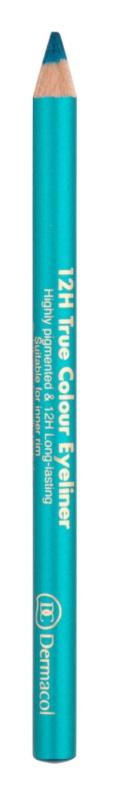 Dermacol 12H True Colour Eyeliner Long-Lasting Eye Pencil