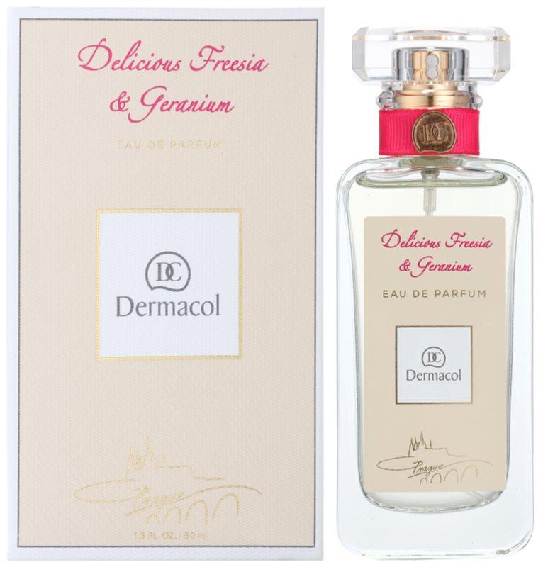 Dermacol Delicious Freesia & Geranium Eau de Parfum for Women 50 ml