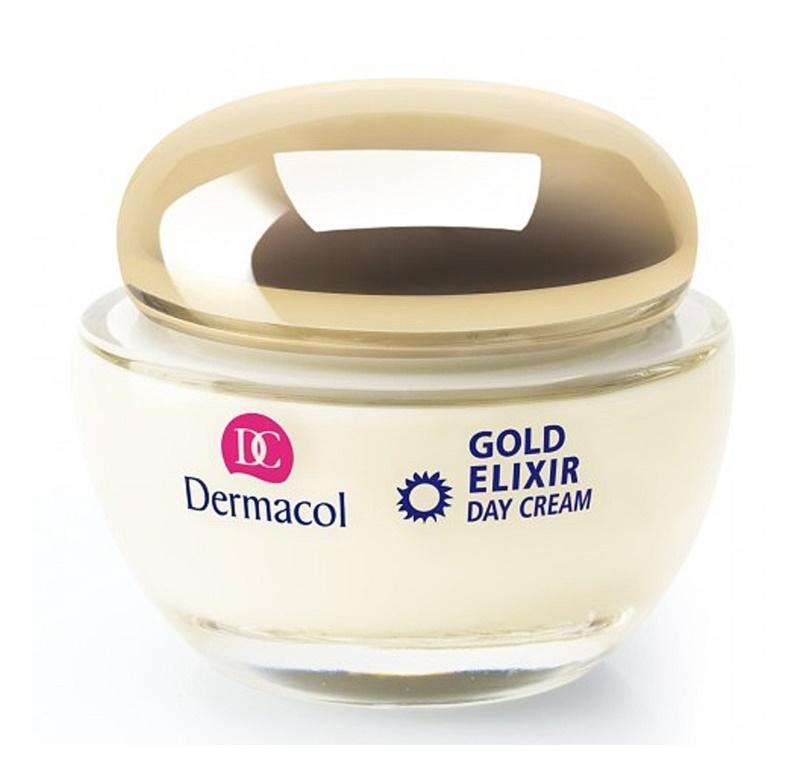 Dermacol Gold Elixir creme de dia rejuvenescedor com caviar