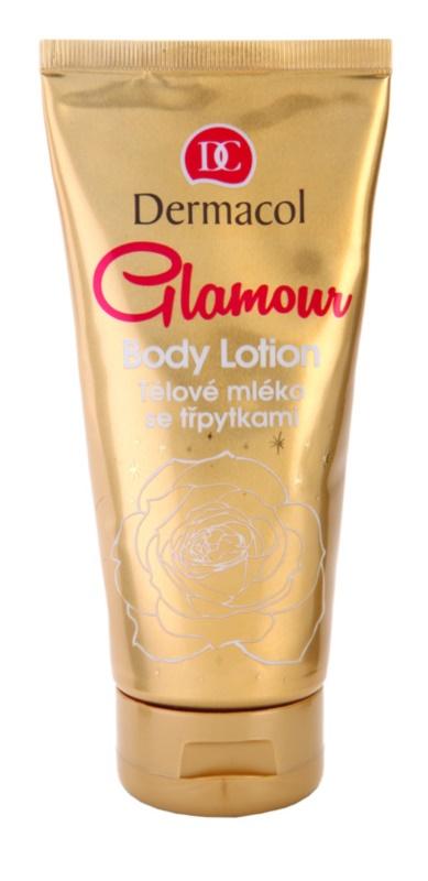 Dermacol Glamour Body telové mlieko s trblietkami