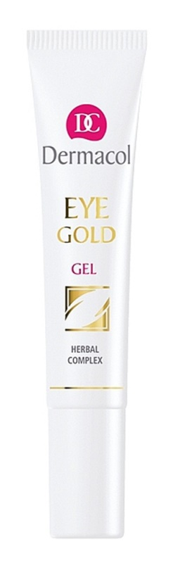 Dermacol Gold Refreshing Gel To Treat Swelling And Dark Circles