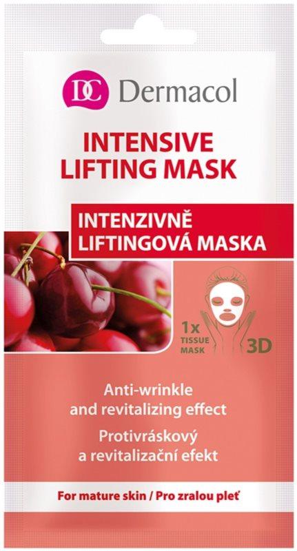 Dermacol Intensive Lifting Mask masque en tissu liftant 3D