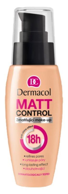 Dermacol Matt Control матуючий тональний крем