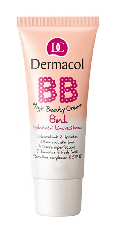 Dermacol BB Magic Beauty tonisierende hydratierende Creme 8 in 1