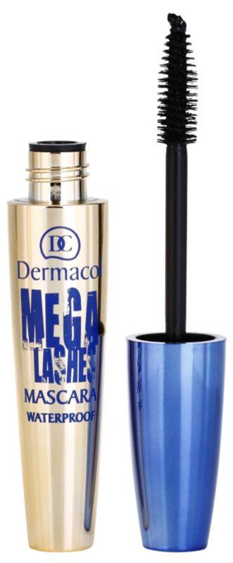 Dermacol Mega Lashes mascara waterproof pour donner du volume