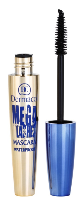 Dermacol Mega Lashes Waterproof Mascara with Volume Effect