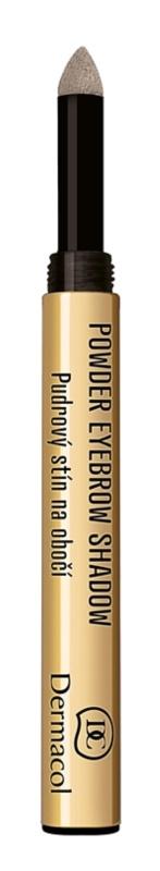 Dermacol Powder Eyebrow Shadow Poeder Oogschaduw  voor Wenkbrauwen