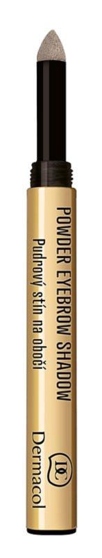 Dermacol Powder Eyebrow Shadow púderező festék szemöldökre