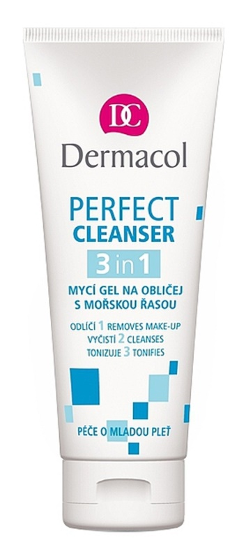 Dermacol Perfect Cleansing Gel With Seaweed