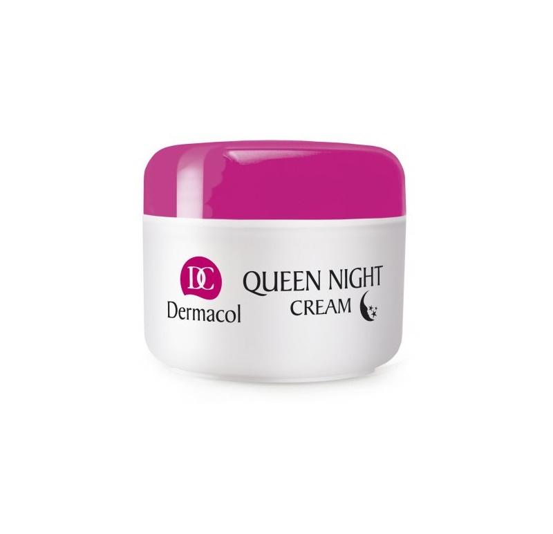 Dermacol Dry Skin Program Queen Night Cream tratamiento de noche reafirmante para pieles secas y muy secas