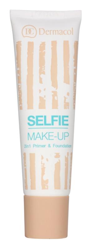 Dermacol Selfie fond de teint bi-phasé