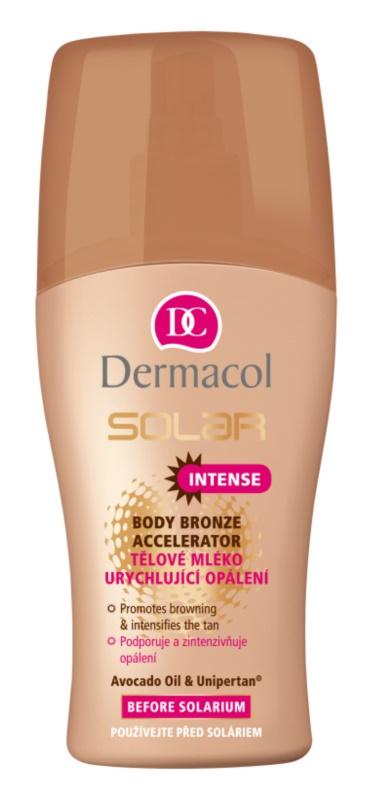 Dermacol Solar молочко для тіла для прискорення засмаги