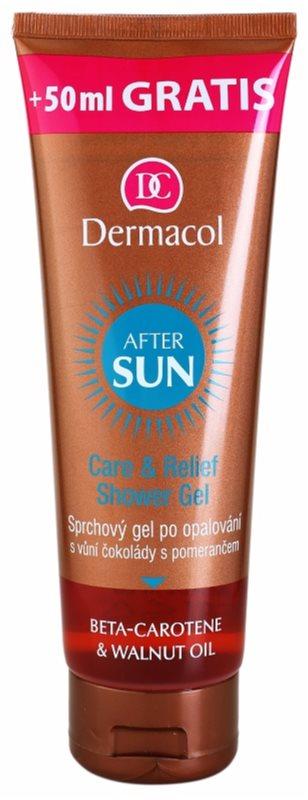 Dermacol After Sun гель для душа після засмаги з бета-каротином