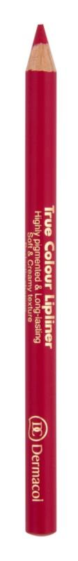 Dermacol True Colour Lipliner crayon contour lèvres