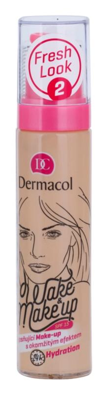 Dermacol Wake & Make-Up rozjasňující make-up s okamžitým účinkem
