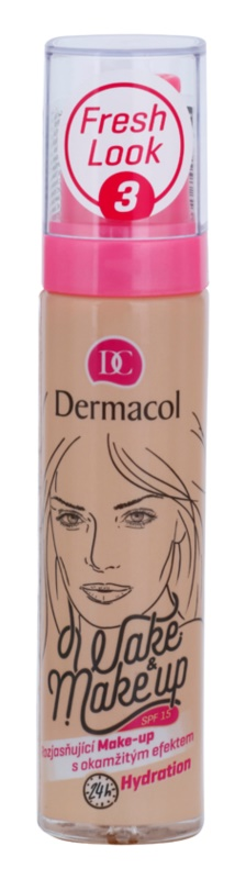 Dermacol Wake & Make-Up posvetlitvena podlaga s takojšnim učinkom