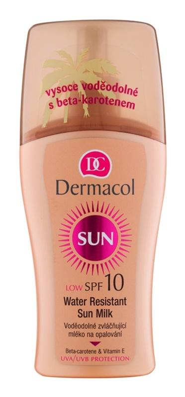 Dermacol Sun Water Resistant водостійке молочко для засмаги SPF 10