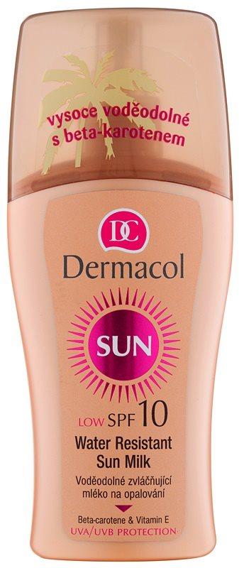 Dermacol Sun Water Resistant Waterproef Zonnebrandmelk  SPF 10