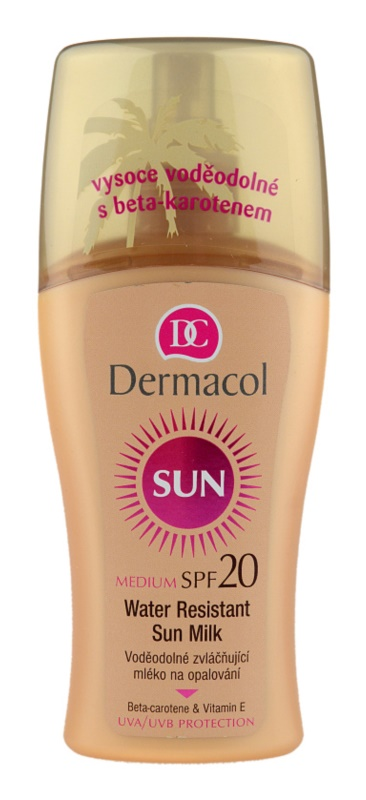 Dermacol Sun Water Resistant Water Resistant Sun Milk SPF 20