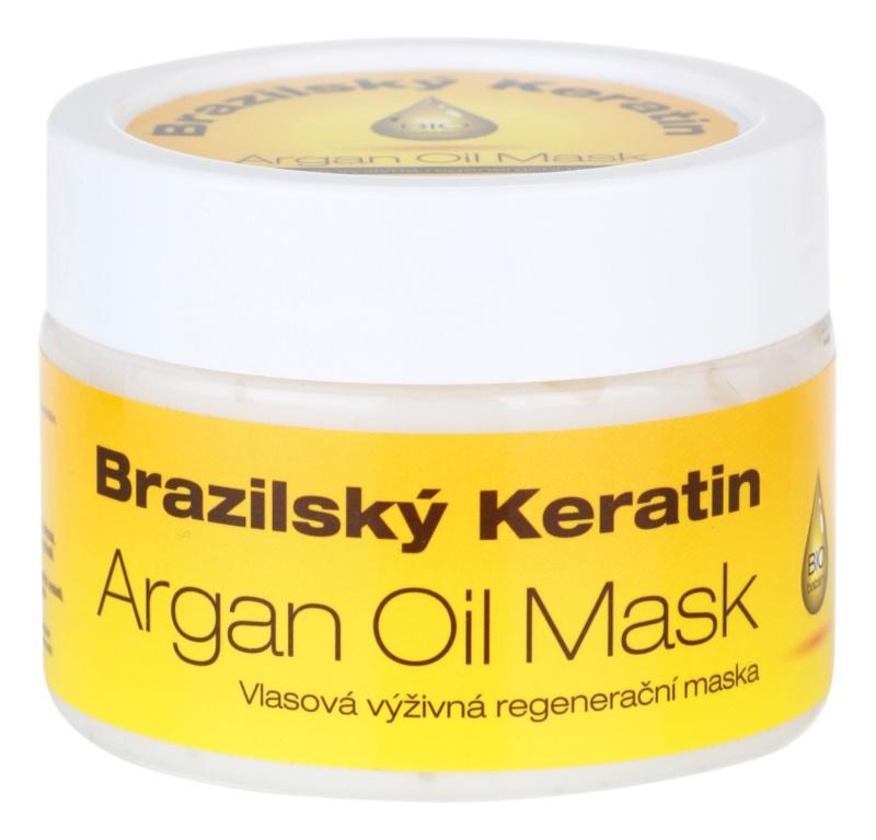 Dermagen Brazil Keratin Argan Oil výživná regeneračná maska pre všetky typy vlasov