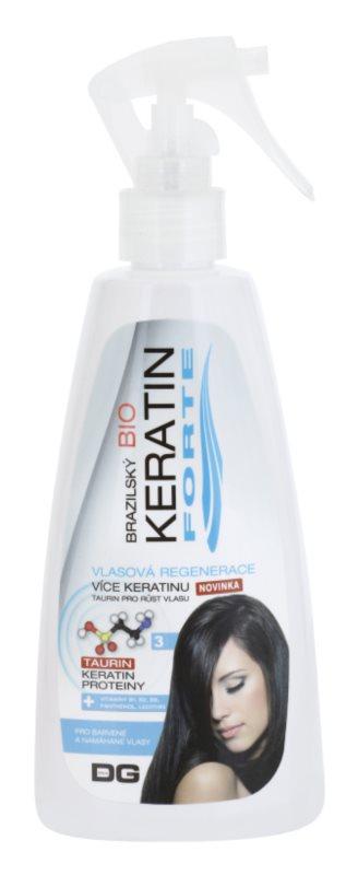 Dermagen Brazil Keratin Forte cuidado regenerador para cabelo pintado