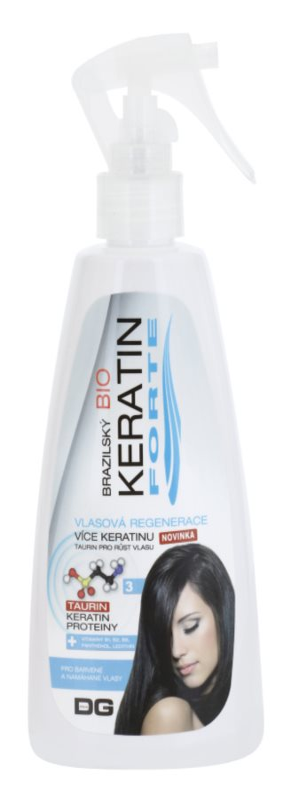Dermagen Brazil Keratin Forte Herstellende Verzorging  voor Gekleurd Haar