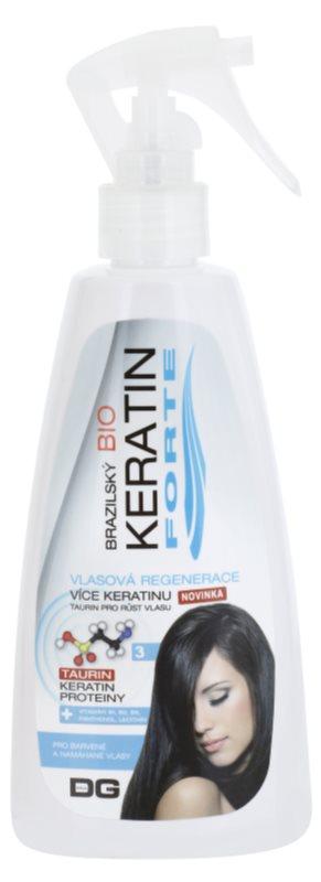 Dermagen Brazil Keratin Forte відновлюючий догляд для фарбованого волосся