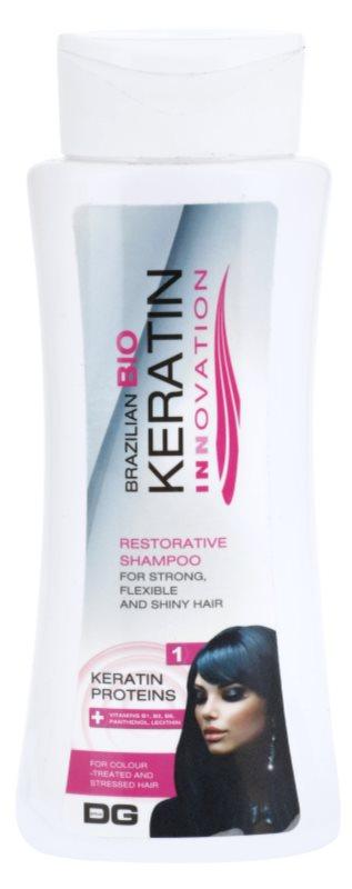 Dermagen Brazil Keratin Innovation champô reforçador para cabelo danificado e pintado