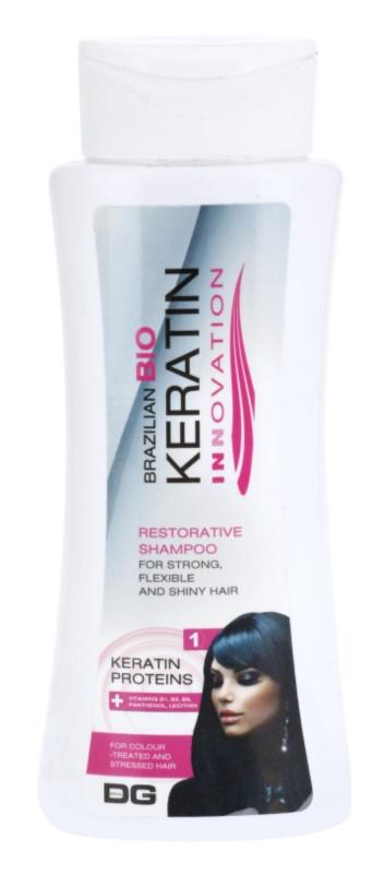 Dermagen Brazil Keratin Innovation szampon wzmacniający do włosów farbowanych i zniszczonych