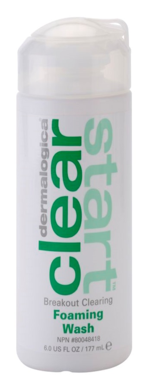 Dermalogica Clear Start Breakout Clearing spuma de curatat impotriva imperfectiunilor pielii cauzate de acnee