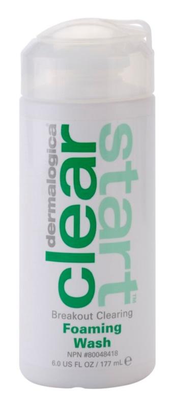 Dermalogica Clear Start Breakout Clearing tisztító hab a pattanásos bőr hibáira