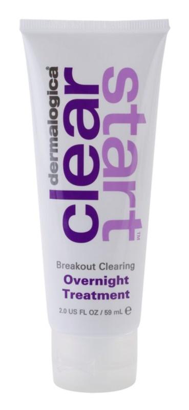 Dermalogica Clear Start Breakout Clearing nočna nega proti aknam in rdečici kože