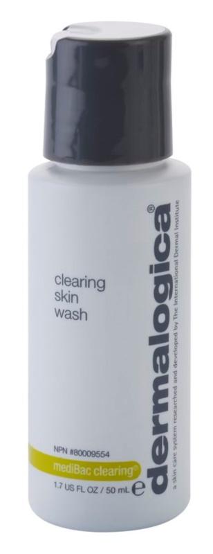 Dermalogica mediBac clearing gel purifiant moussant effet antibactérien