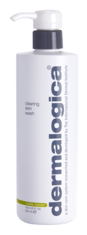 Dermalogica mediBac clearing gel de limpeza para pele oleosa e problemática