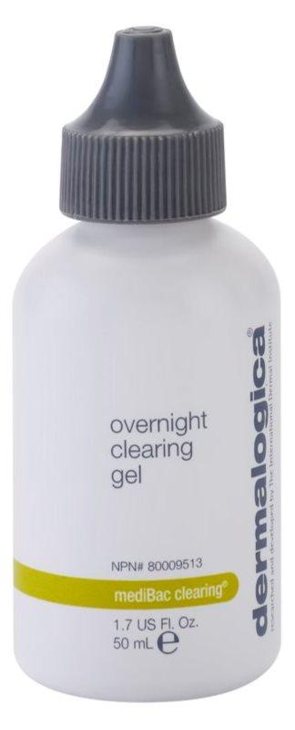 Dermalogica mediBac clearing нічний зволожуючий гель попереджаючий появу акне