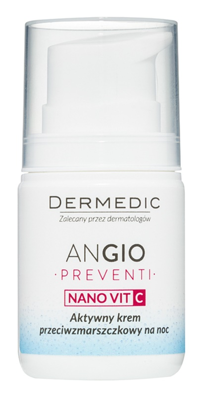 Dermedic Angio Preventi Anti-Wrinkle Night Cream