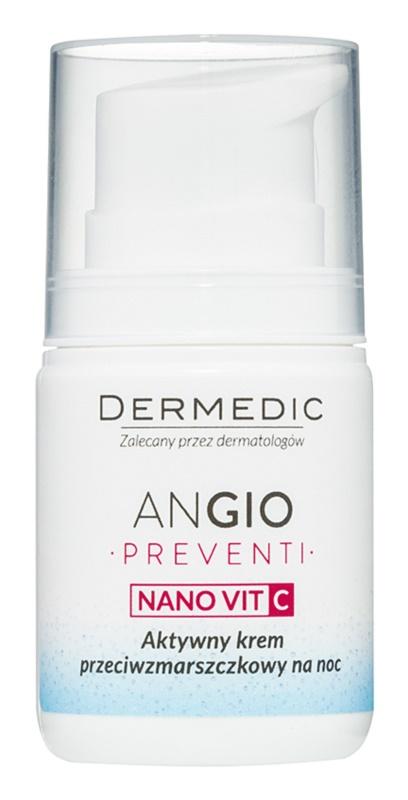Dermedic Angio Preventi Nachtcreme gegen Falten