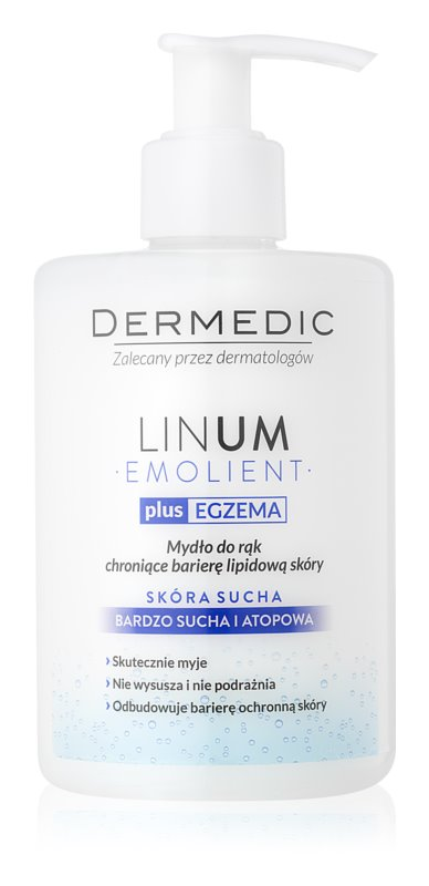 Dermedic Linum Emolient σαπούνι χεριών για προστασία του φράγματος των λιπιδίων