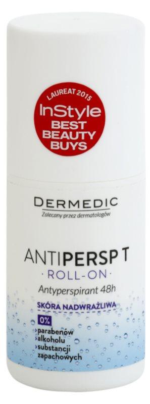 Dermedic Antipersp T antitranspirante em roll-on para pele muito sensível 48 h