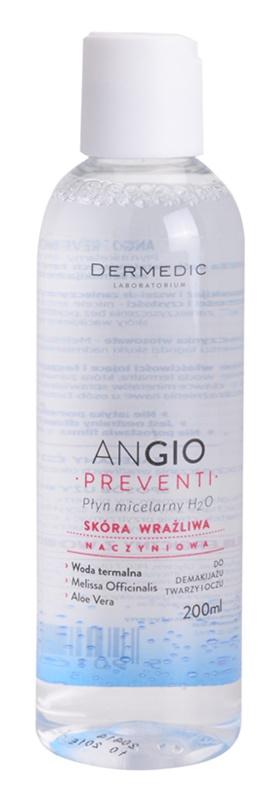Dermedic Angio Preventi eau micellaire pour peaux sensibles sujettes aux rougeurs