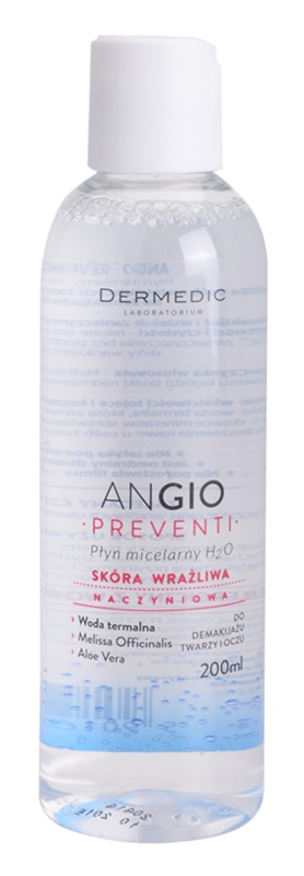 Dermedic Angio Preventi Micellar Water for Sensitive, Redness-Prone Skin