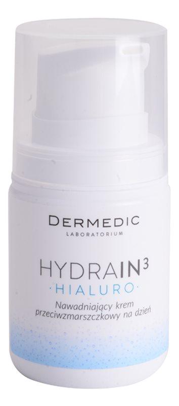 Dermedic Hydrain3 Hialuro crema de día hidratante  antiarrugas