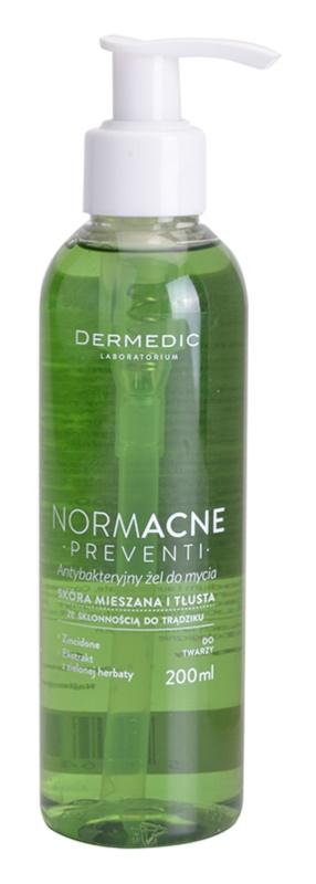Dermedic Normacne Preventi gel de limpeza para pele oleosa e mista