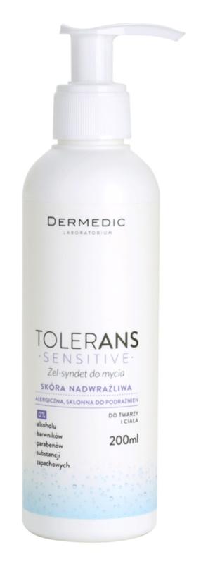 Dermedic Tolerans gel na mytí obličeje a těla