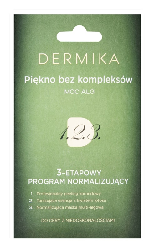 Dermika 1. 2. 3. 3-Phase Normalising Treatment For Skin With Imperfections