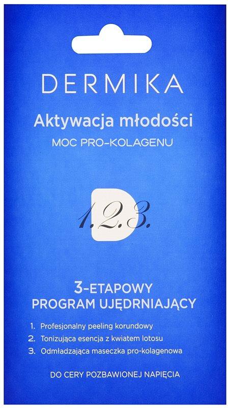 Dermika 1. 2. 3. tratamiento reafirmante trifásico para pieles maduras
