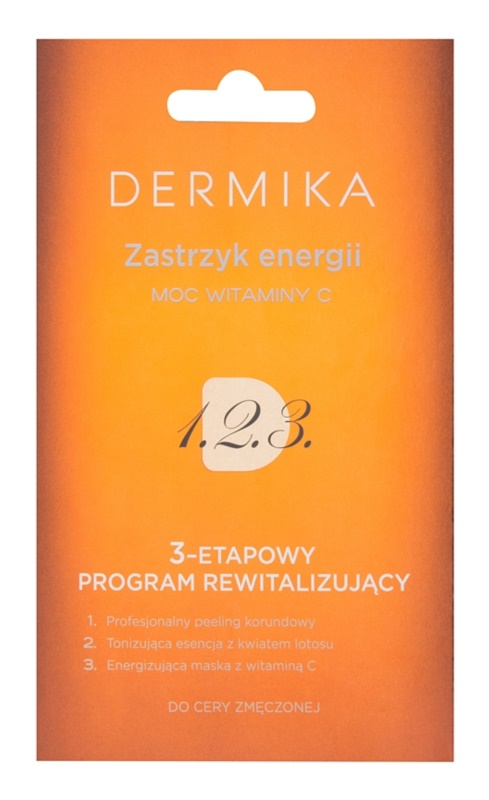 Dermika 1. 2. 3. 3-Phase Revitalising Treatment for Tired Skin