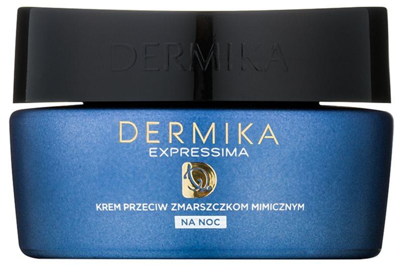 Dermika Expressima noční regenerační krém proti mimickým vráskám
