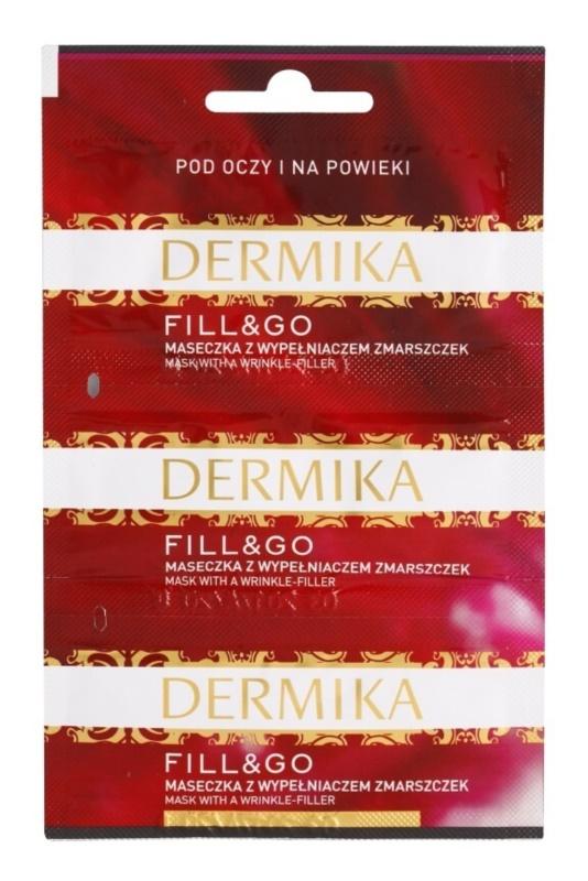 Dermika Fill & Go masque régénérant anti-rides contour des yeux