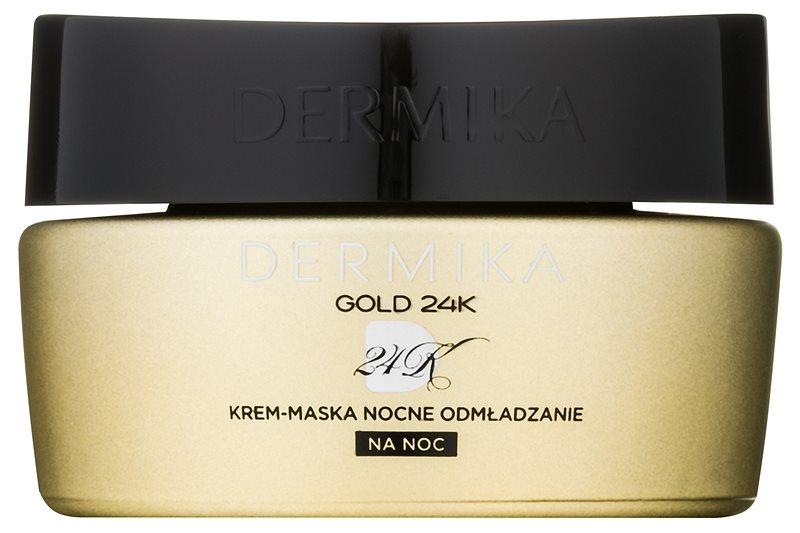 Dermika Gold 24k Total Benefit Night Cream-Mask Regenerative Effect